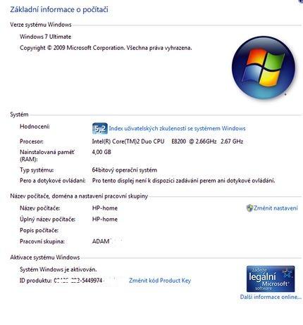 Windows7 Ultima - уже в работе