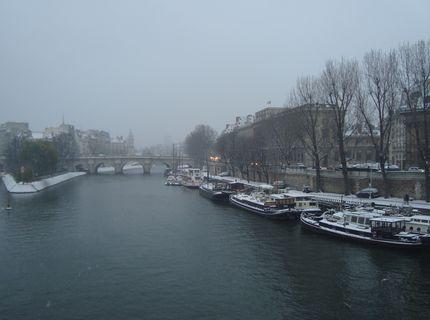 Из далека долго, течёт река... Сена
