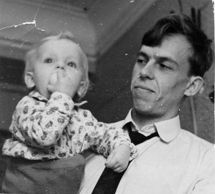 Папа и сын (СССР, Челябинск, 1966-й год)