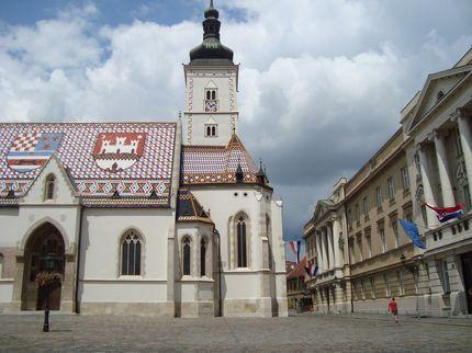 Старый Загреб, храм Святого Марка