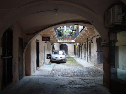 Дворик в Загребе
