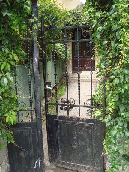 Калитка в старом Загребе