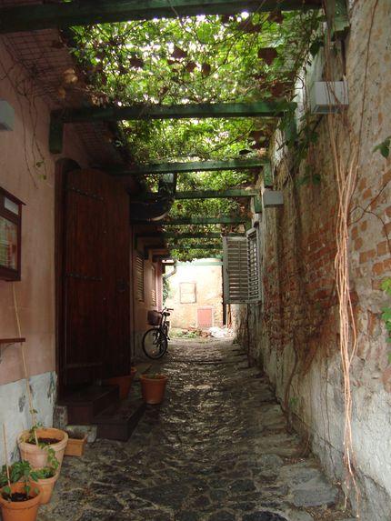 Улочка в старом Загребе