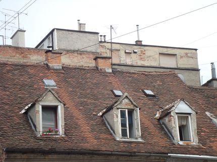 Крыши старого Загреба