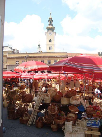 Туристические сувениры в Загребе