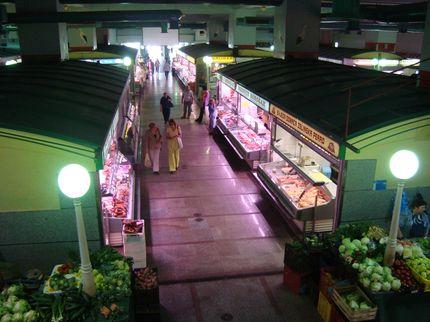 Крытый рынок в Загребе