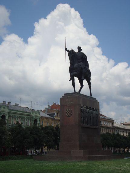 Памятник королю Томиславу