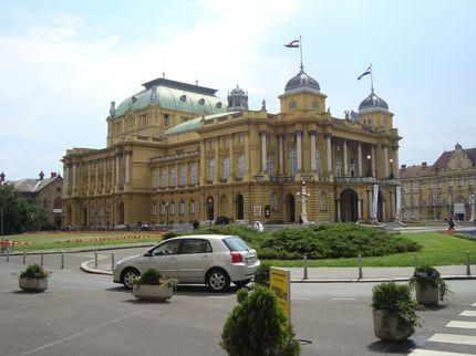 Национальный театр Загреба