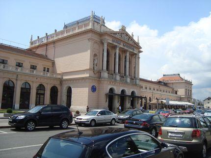 Главный вокзал Загреба