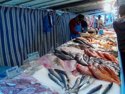 Рыбный рынок в Клиши
