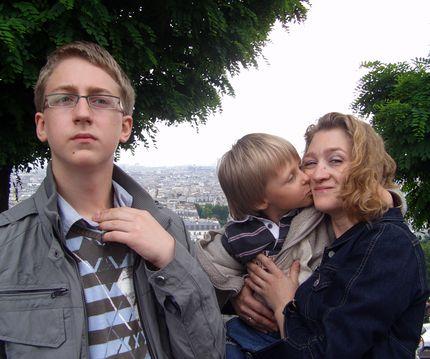 Париж - город влюблённых
