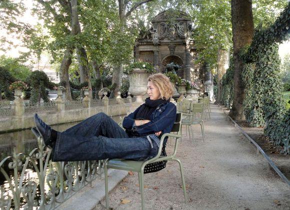 Алёна в Jardin du Luxembourg