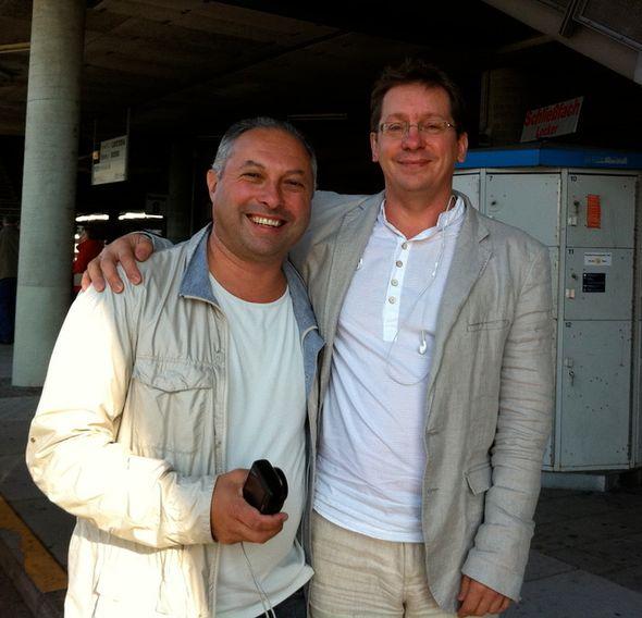 Мы встретились рано утром на станции метро RÖTTMANING в Мюнхене