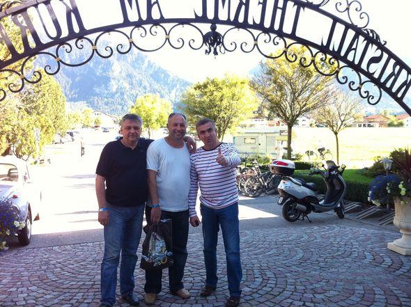 Штирлицы возвращались на работу в Берлин, т.е. в Мюнхен
