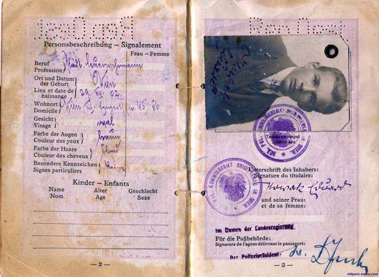Паспорт Австрии 1928-го года