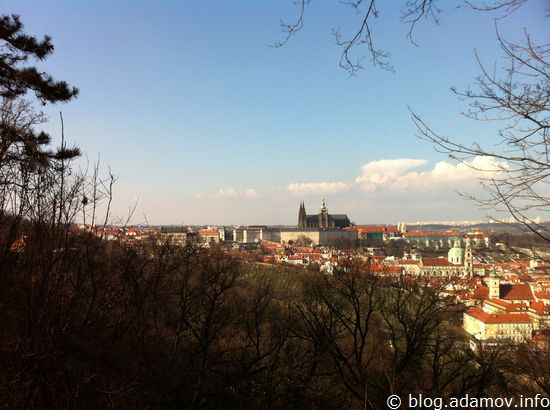 И снова - Пражский Град