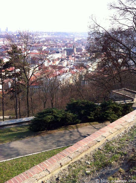 С площадки вся Прага как на ладони